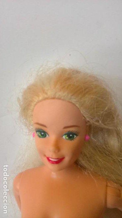 Barbie y Ken: Barbie. Mattel Inc 1966 China. Cabeza Mattel Inc 1976. Con ropa. - Foto 8 - 284734533