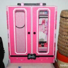 Barbie y Ken: MALETA ARMARIO PARA ROPAS BARBIE ORIGINAL - 2013 - MEDIDA 31X25X8CM - PLASTICO. Lote 287781058