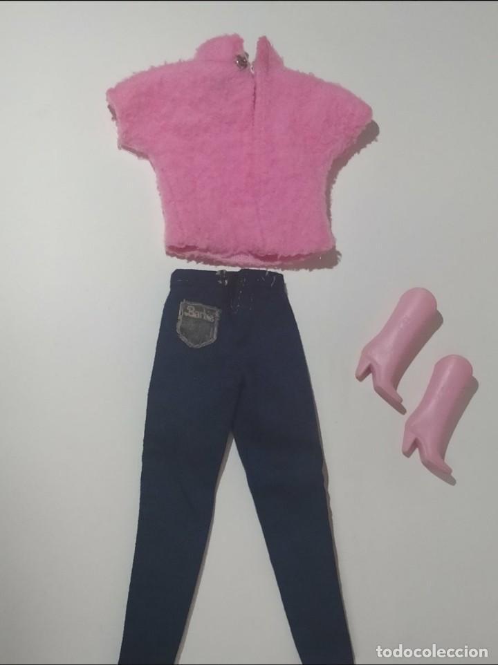 Barbie y Ken: BONITO CONJUNTO BARBIE CONGOST JEANS - Foto 4 - 288574268
