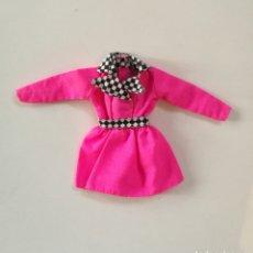 Barbie y Ken: BARBIE SPECIAL COLLECTION SHOP IN STYLE 1995 VESTIDO ROSA FUCSIA AÑOS 90 MATTEL ROPA. Lote 294055493
