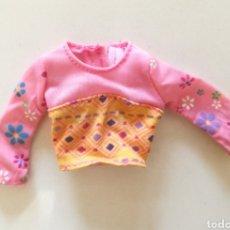 Barbie y Ken: BARBIE & KRISSY STROLL N PLAY 2001 VISITA EL PARQUE CAMISETA ROSA Y NARANJA. Lote 294990413