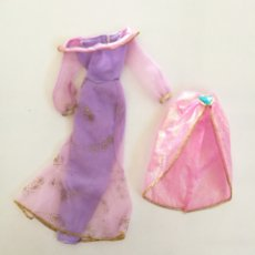Barbie y Ken: JASMINE VESTIDO Y FALDA MORADA PRINCESA 1991 AÑOS 90 BARBIE DISNEY ALADDIN. Lote 294991528