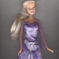 Barbie y Ken: PRECIOSA BARBIE CON VESTIDO LILA. Lote 22693965