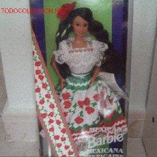 Barbie y Ken: BARBIE MEXICANA DE COLECCIÓN, EN CAJA. Lote 1582056