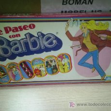 Barbie y Ken: JUEGO DIDACTA PASEANDO CON BARBIE AÑOS 80 NUEVO NUNCA JUGADO. Lote 26932751