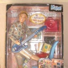 Barbie y Ken: BLAINE DE MATTEL,SERIE CHICAS DE HOY,2000,CAJA ORIGINAL,A ESTRENAR. Lote 21307264
