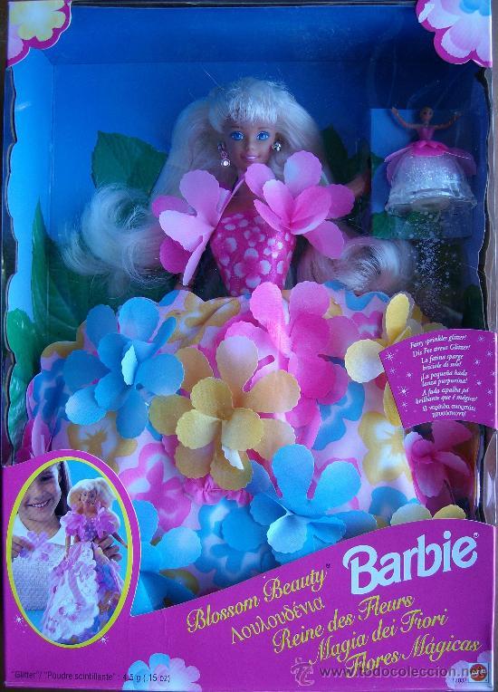 BARBIE FLORES MÁGICAS MATTEL (Juguetes - Muñeca Extranjera Moderna - Barbie y Ken)