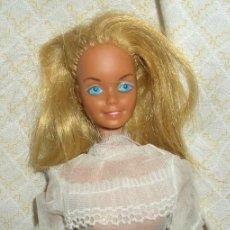 Barbie y Ken: BARBIE MALIBÚ SPORT STAR,MATTEL,AÑO 1966,MADE IN PHILIPPINES. Lote 22514753