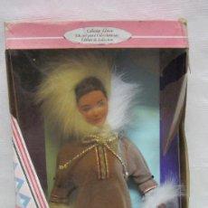 Barbie y Ken: BARBIE INUK ESQUIMAL,MATTEL,AÑO 1996,CAJA ORIGINAL,BARBIE DE COLECCIÓN. Lote 28696854