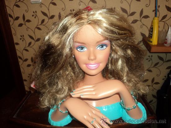 barbie peina y maquilla nueva - comprar muñecas barbie y ken en