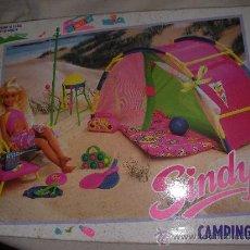 Barbie y Ken: ANTIGUO CAJA CAMPING SET NUEVA SIN USAR PARA SINDY Y BARBIE. Lote 31742941