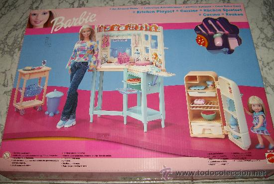 Barbie Cocina | Barbie Cocina De Mattel Comprar Munecas Barbie Y Ken En