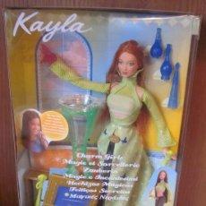 Barbie y Ken: KAYLA,DE BARBIE,MATTEL,HECHIZOS MÁGICOS,CAJA ORIGINAL,2003,A ESTRENAR. Lote 35926544
