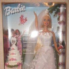 Barbie y Ken: BARBIE,NOVIA DE ENSUEÑO,MATTEL,CAJA ORIGINAL,2001,A ESTRENAR. Lote 35927095