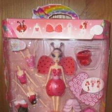 Barbie y Ken: BARBIE FAIRYTOPÍA,HADA MIL COMBINACIONES,MATTEL,CAJA ORIGINAL,2006. Lote 234333820