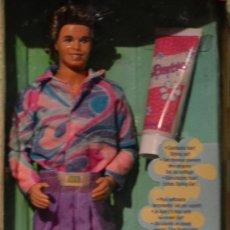 Barbie y Ken: KEN ULTRA HAIR- MATTEL-1991-EN CAJA. Lote 36760243
