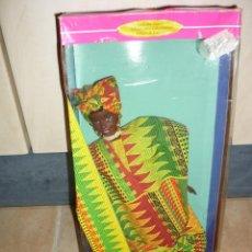 Barbie y Ken: BARBIE COLECCION GHANA NEGRA COLECCION EN CAJA DIFICIL !!!. Lote 39406407