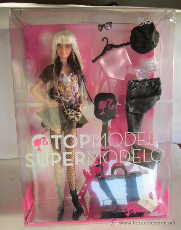 BARBIE, TOP MODEL, SUPER MODELO, EN CAJA. CC (Juguetes - Muñeca Extranjera Moderna - Barbie y Ken)
