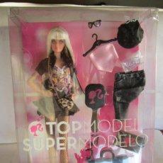 Barbie y Ken: BARBIE, TOP MODEL, SUPER MODELO, EN CAJA. CC. Lote 39581214