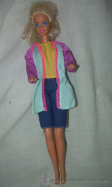 MUÑECA BARBIE , MARCA MATTEL INC 1966 CHINA EN EL DORSO Y EN LA NUCA MATTEL INC 1976 (Juguetes - Muñeca Extranjera Moderna - Barbie y Ken)