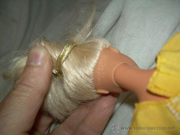 Barbie y Ken: MUÑECA BARBIE , MARCA MATTEL INC 1966 CHINA EN EL DORSO Y EN LA NUCA MATTEL INC 1976 - Foto 5 - 40355725