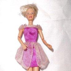 Barbie y Ken: MUÑECA BARBIE , VESTIDO FANTASIA , MARCA MATTEL CHINA 1991 AL DORSO Y EN LA NUCA. Lote 43022245
