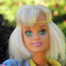 Barbie y Ken: MUÑECA SINDY BEACH DAZZLE ISLA DORADA DE HASBRO DE OJOS TURQUESA AÑOS 90. Lote 44907122