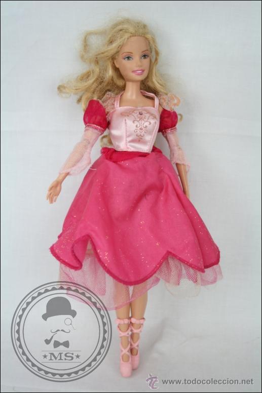 Muñeca Barbie Bailarina Articulada - Mattel, 1998 - Rubia y Ojos Marrones - 31 Cm de Altura segunda mano