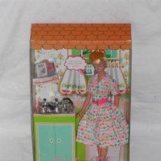 Barbie y Ken: BARBIE DE COLECCIÓN LEARNS TO COOK. A ESTRENAR. Lote 46392690
