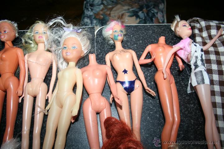 Barbie y Ken: lote de muñecas barbie y similares y famosa - Foto 2 - 46765882