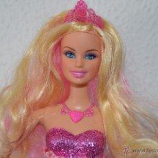 Barbie y Ken: PRECIOSA MUÑECA BARBIE PRINCESA TORI PELICULA BARBIE PRINCESA Y CANTANTE PELO ROSA PFS. Lote 47631584