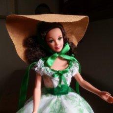 Barbie y Ken: BARBIE SCARLETT O'HARA. Lote 48271397
