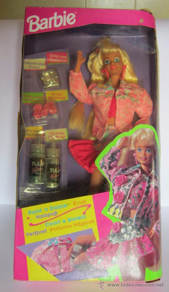 MUÑECA BARBIE PINTURAS MAGICAS, DE MATTEL, EN CAJA. CC (Juguetes - Muñeca Extranjera Moderna - Barbie y Ken)