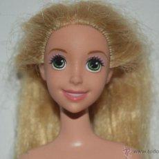 Barbie y Ken: PRECIOSA MUÑECA BARBIE PRINCESA RAPUNZEL DISNEY PELICULA ENREDADOS. Lote 50031130