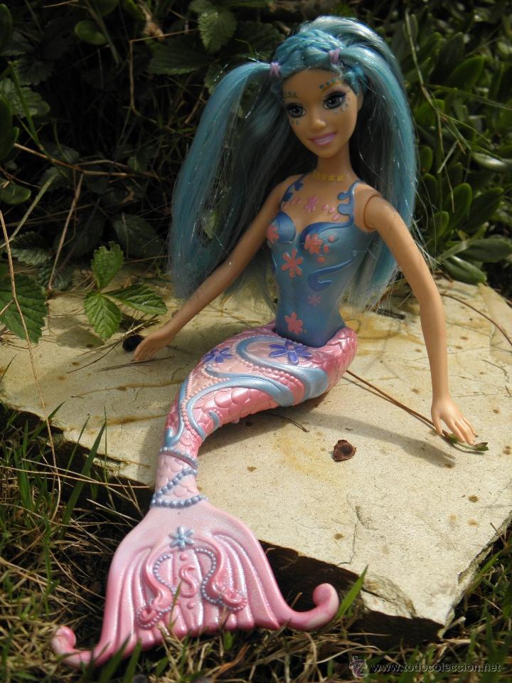Muñeca Barbie Sirena Nori De Fairytopia Mermaid Sold Through