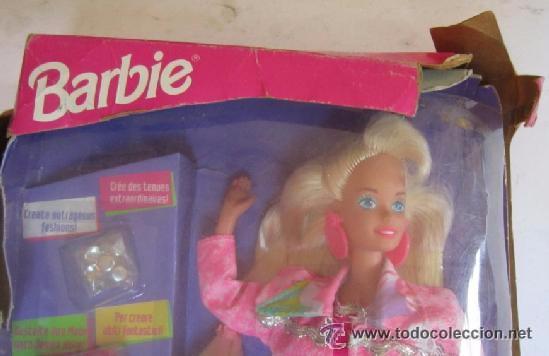 Barbie y Ken: MUÑECA BARBIE PINTURAS MAGICAS, DE MATTEL, EN CAJA. CC - Foto 2 - 51258284