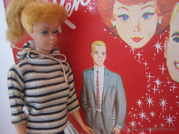 Barbie y Ken: PRECIOSA BARBIE 1958 AND KEN 1960, CON ARMARIO, VESTIDOS Y ZAPATOS. (MUY REBAJADO) - Foto 6 - 52476314