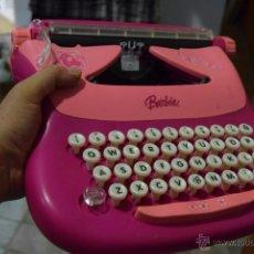 Barbie y Ken: LA MÁQUINA DE ESCRIBIR DE BARBIE.FUNCIONA PERFECTAMENTE.. Lote 52601042