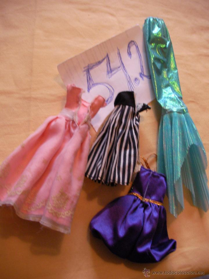 Lote Antiguos Vestidos Barbie Envio Gratis A Comprar Munecas