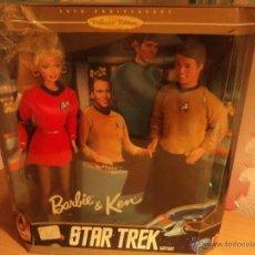 Barbie y Ken: BARBIE Y KEN DE COLECCIÓN. STAR TRECK. 30 ANIVERSARIO.SE PUEDE PAGAR CON FACILIDADES.. Lote 53625661