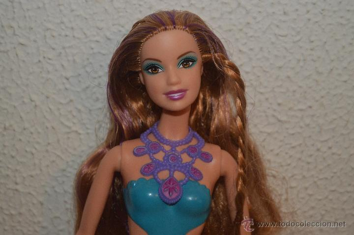 Preciosa Muñeca Barbie Sirena Pelirroja Pfs Sold Through Direct