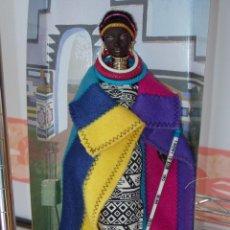 Barbie y Ken: BARBIE DE COLECCIÓN PRINCESA DE SUDÁFRICA. Lote 54329773