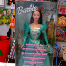 Barbie e Ken: BARBIE LA PRINCESA Y EL GUISANTE.AÑO 2002.NUEVA EN CAJA.. Lote 86176598