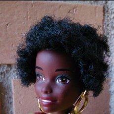 Barbie y Ken: MUÑECA BARBIE COLECCIÓN AÑOS 90 PAÍSES DEL MUNDO, GHANA, NEGRA AFRICANA. Lote 55007444