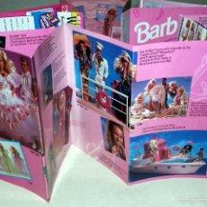 Barbie y Ken: CATALOGO DESPLEGABLE DE LA MUÑECA BARBIE Y KEN DE MATTEL Y OTRO DE BARBIE CLUB 1992-1993. Lote 55690066