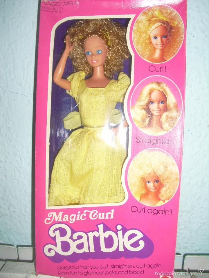 barbie magic curl, nueva en su caja - Buy Barbie and Ken Dolls at