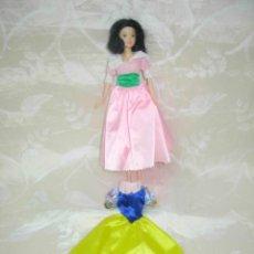 Barbie y Ken: PRECIOSA BARBIE BLANCANIEVES DE DISNEY CON DOS VESTIDOS. Lote 57119504