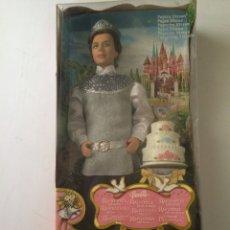 Barbie y Ken: PRINCIPE STEFAN-RAPUNZEL-MATTEL J1016-MUY BUSCADO-NUEVO EN CAJA!!!. Lote 57206406