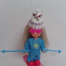 Barbie y Ken: KELLY ESQUIADORA 1994. Lote 59543331