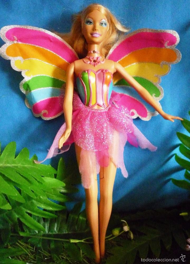 Barbie reina de las hadas comprar muecas barbie y ken en mueca barbie hada de fairytopia la magia del arco iris mueve las alas leer hadas thecheapjerseys Image collections